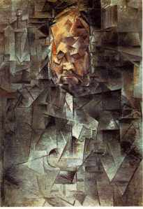 Pablo Picasso, Portrait of Ambroise Vollard, 1910.