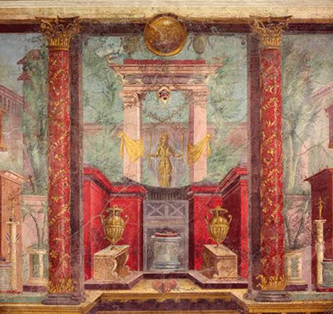Romans Paint Better Perspective Than Renaissance Artists