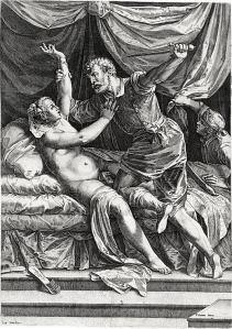 Titian, Rape of Tamar