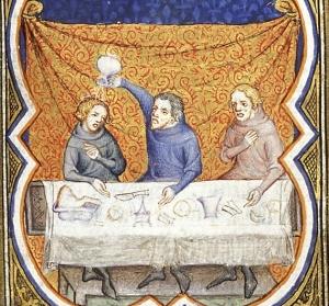 """Samuel anointing David"", Illustrator of Bible Historiale, 1372. (Source)"