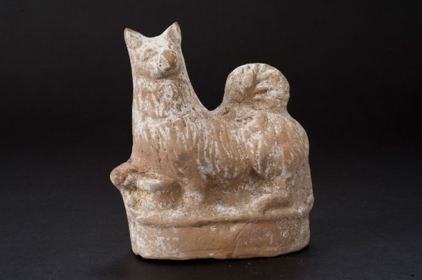 Terracotta Dog Rattle, Greek, Johns Hopkins Archaeological Museum, 4th- to 1st-century BC (Source) http://archaeologicalmuseum.jhu.edu/the-collection/object-stories/archaeology-of-daily-life/childhood/terracotta-dog-rattle/