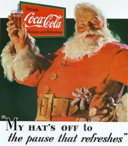 Coca-Cola advert, 1931.