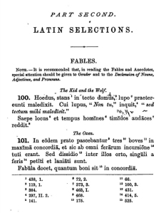 A New Latin Reader with Exercises in Latin Composition, by Albert Harkness, 1879.