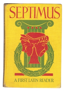 Septimus: A First Latin Reader, by R. L. Chambers and K. D. Robinson.